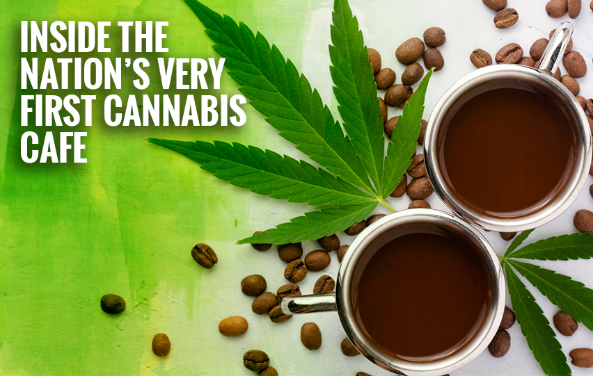 nation's very first cannabis cafe