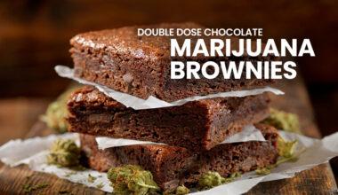 Chocolate Marijuana Brownies